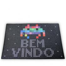 Capacho Space Invaders - Preto - Único - Gorila Clube