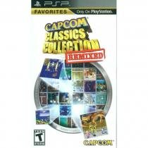 Capcom classics collection remixed favorites - psp - Sony
