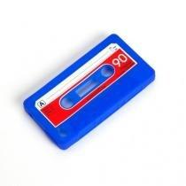 Capinha Case P/ Celular Cassete Azul - Maisaz