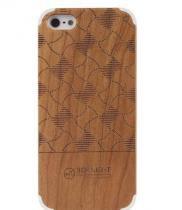 Capinha de Madeira Apple Iphone 5 5s Cherry - iPhone 5 / 5s / 5SE - Group luadi
