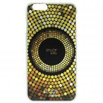 Capinha Rígida Circulos Dourado para Iphone 6 - Enjoy Mobile - Enjoy Mobile