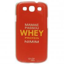 Capinha Rígida Whey Protein Para Smartphone Galaxy S3 - Enjoy Mobile - Enjoy Mobile