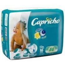 Capricho Bummis Econômica Fralda Infantil Xg C/16 -