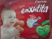 Capricho Enxutita Jumbinho Fralda Infantil P C/24 -