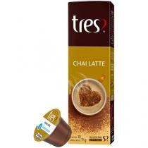 Cápsula de Chai Latte 3 Corações TRES 10 Unidades