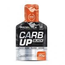 Carb Up Gel Black - Sabor Laranja 1 sachê de 30g - Probiótica -