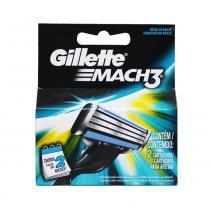 Carga Mach 3 com 2 Cartuchos - Gillette -