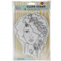 Carimbo cling stamp prima marketing - summer 980160 -