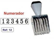 Carimbo Numerador 5mm 6 Fitas Carbrink -