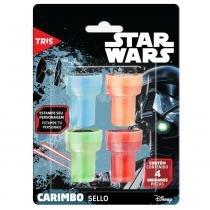 Carimbo Star Wars Autotintando 4 Unid - Tris