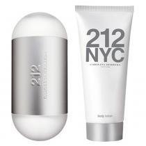 Carolina Herrera 212 NYC Kit - Eau de Toilette + Loção Corporal -