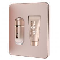 Carolina Herrera 212 Vip Rosé Kit - Eau de Parfum + Loção Corporal - Carolina Herrera