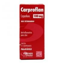 Carproflan Anti-Inflamatório 100mg 14 comprimidos - Agener União - Agener União