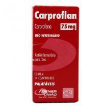 Carproflan Anti-Inflamatório 75mg 14 comprimidos - Agener União -