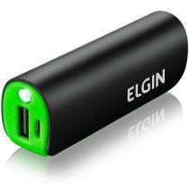 Carregador de Bateria Portátil USB CP2600 2600mAh Preto - Elgin - Elgin