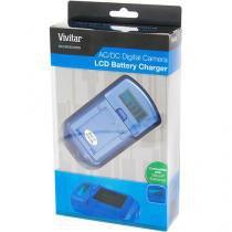 Carregador de baterias Nikon com visor de LCD VIVSC3100N Vivitar -