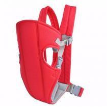 Carregador De Bebê Canguru Baby Carrier Wrap Sling Vermelho - Way