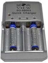 Carregador de Pilhas AA SG-68003 - 800 mAh - Sanger