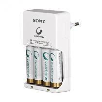 Carregador de pilhas bcg-34hh4gn 2500 mah sony - Sony