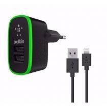 Carregador Iphone Belkin Duplo USB Lightning -