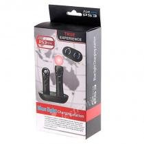 Carregador para controles PlayStation Move - PS3 - Blue light