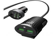 Carregador Veicular Universal Easy Mobile - CARVDUO4XPR