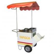 Carrinho Ambulante de Tapioca com toldo - Pipocar 4216 -