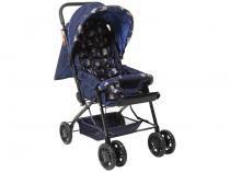 Carrinho Berço de Bebê Stillo Ursinho Reclinável  - 3 Posições para Crianças até 15kg