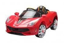 Carrinho Carro Elétrico Esportivo Esporte Luxo Infantil Crianças Vermelho 12v Com Controle Belfix -