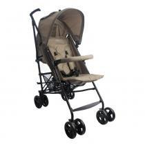 Carrinho de Bebê Alumínio Sprinter 4 Posições Capuccino Burigotto - Burigotto