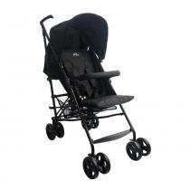 Carrinho de Bebê Alumínio Sprinter 4 Posições Preto Burigotto -