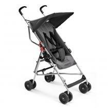 Carrinho de Bebê - até 15 Kg Guarda-chuva Pocket Cinza - BB502 - Multikids Baby - Multilaser