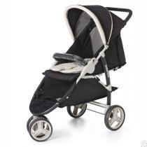 Carrinho de Bebê Berço 3 Rodas Cross Galzerano -