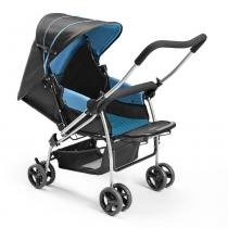 Carrinho De Bebe Berco Flip Azul Multikids Baby Bb503 - Multilaser
