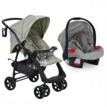Carrinho de Bebê Burigotto AT6 e Bebê Conforto Evolution SE - Napoli - Burigotto