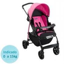 Carrinho de Bebê Burigotto Ecco - Azaleia - Neutra - Burigotto