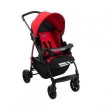 Carrinho de Bebê Burigotto Ecco Red IXCA2057 -