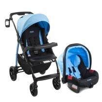 Carrinho de Bebê Burigotto Módulo e Bebê Conforto - Iris - Burigotto