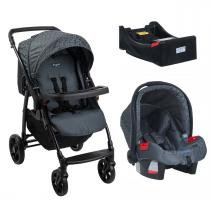 Carrinho de Bebê Burigotto Primus K e Bebê Conforto com Base - Volterra - Burigotto