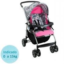 Carrinho de Bebê Burigotto Rio K - Grafitado - Neutra - Burigotto