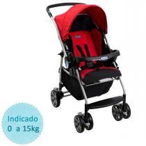 Carrinho de Bebê Burigotto Rio K - Red -