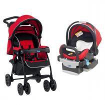 Carrinho de Bebê Chicco e Bebê Conforto Kit Duo Today com Base - Race - Chicco