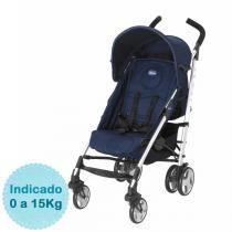 Carrinho de Bebê Chicco - Liteway - até 15kg - Blue - Neutra - Chicco