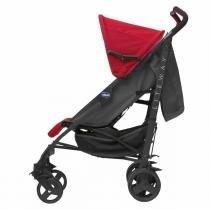 Carrinho de Bebê Chicco - Liteway - até 15kg - Red Wave - Neutra - Chicco