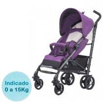 Carrinho de Bebê Chicco - Liteway Basic 2 - até 15kg - Aster - Chicco