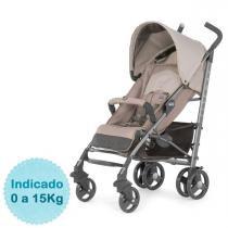 Carrinho de Bebê Chicco - Liteway Basic 2 - até 15kg - Sand -