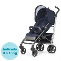 Carrinho de Bebê Chicco - Liteway Top 2 - até 15kg - Denim -