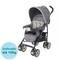 Carrinho de Bebê Chicco Neuvo - Graphite - Neutra - Chicco
