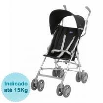 Carrinho de Bebê Chicco - Snappy - até 15kg - Black - Neutra - Chicco