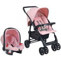 Carrinho de Bebê e Bebê Conforto Burigotto - Tempus Messina para Crianças até 15kg